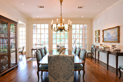 Formal Rooms and Living Areas Connie Dunn Designs